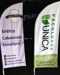 *Wind banner R$160 - 2 metros
