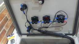 Chave Estrela-Triangulo, para compressores, bombas e bombas de incêndio