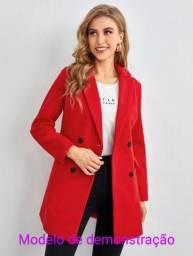 Casaco vermelho veste P/M