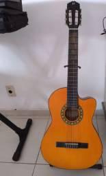 Vende violão nylon Michael elétrico