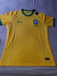 Camisa Seleção Brasileira 20/21Vaporkint versão Jogador Pronta entrega