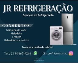 Consertos - Máquina de lavar/Geladeira/Freezer