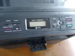 Impressora brother dcp 7065 dn, com defeito