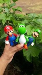 Kit Super Mario Três Bonecos