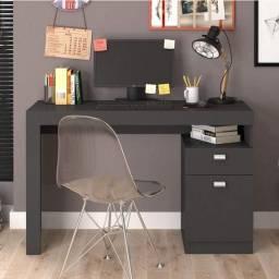 Escrivaninha 1 Gaveta 1 Porta - Frete Gratis
