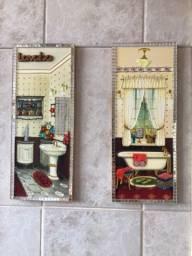 Quadros par lavabo