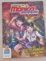 Turma Da Mônica Jovem - Nº10-2017 - As 7 Pragas Do Limoeiro