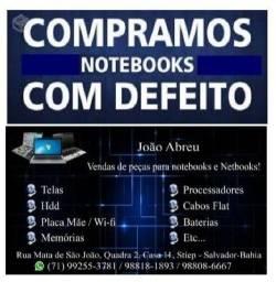 Notebook algumas marcas - Leia o anúncio