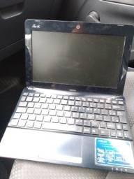 Netbook Asus para retirada de peças