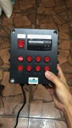 Painel de controle com coel TLZ11