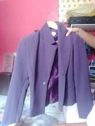 Blazer feminino lilás DIA DAS MAES