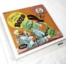 Colecionável Anos 50 - Capa do Disco Vamos Rir Com o Bozo - Sem o Disco - Para Reposição