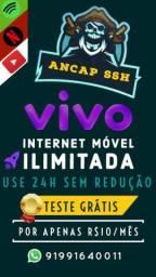 Internet móvel ilimitada