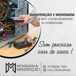 Manuntenção em Computadores e Notebooks em Feira de Santana Bahia