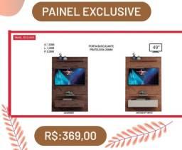 Painel p/ TV até 49 polegadas Exclusive (PROMOÇÃO)