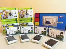 Celular, Babá Eletrônica e Porta Retrato MP4