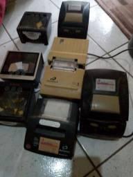 Impressora de caixa e leitores