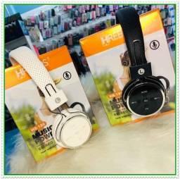 Fone Bluetooth Headphone Music Power Alta Qualidade com Micro Sd Rádio Fm. NOVO