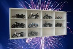 Estante para 12 motos Super/Harley