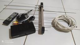 Antena + conversor digital