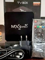 TV BOX MXQ PRÓ 4K 4GB/64R ANDROID 10.1 WIFI 2.4/5G