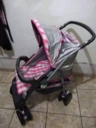 Carrinho de bebê, mais cadeirinha bebê conforto