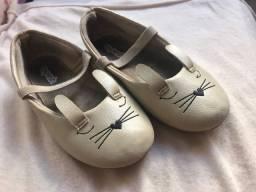 Lote calçados menina