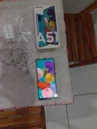Vendo Samsung A51 128 gigas semi novo