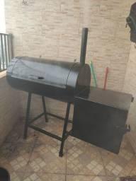 Pit Smoke (churrasqueira e defumador)
