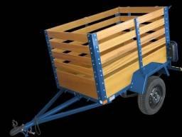 Carretinha reboque carrocinha