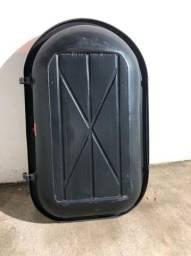 Vendo bagageiro de teto veicular grande pouco uso