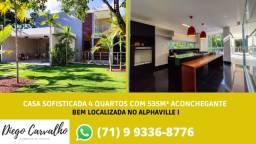 Casa dos Sonhos a Venda, 5/4 com 535m² - (R3)