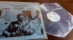 LPs (6) Blues/Soul/Jazz- B.B. King Sinatra James Brown A. Collins Aretha Tina
