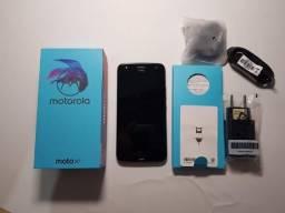 Moto X4 32Gb Preto com Nota e Garantia