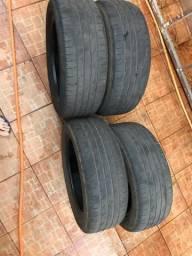 4 pneus 205/55/R16 APENAS $250,00
