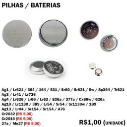 Pilha Ag1 Lr621 364 164 531 Sr60 Sr621 Sw Sp364 Tr621 Ag3 Lr41 Lr736 Ag4 Lr626 Lr66