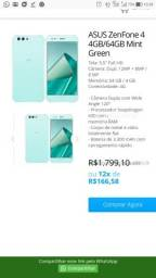 ASUS ZenFone 4 4GB/64GB Mint Green