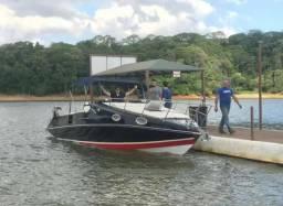 Lancha 30 pés Offshore volvo Penta cabinada - 2011