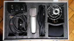 Microfone Condensador Superlux CMH8G (Novo)