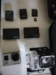 GoPro Black torrando