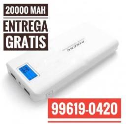 Carregador Portátil Pineng 20000 mAh Original Entrega Grátis