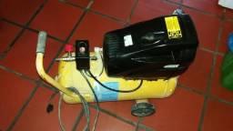 Compressor de ar 24 litros automático 127 volts