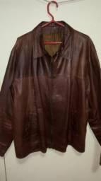 Jaqueta de couro semi nova