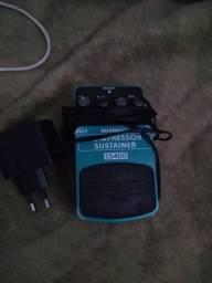 Pedal compressor guitarra