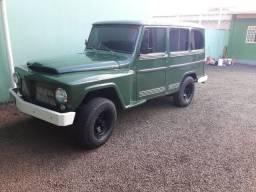 Rural Willys 1966 -Verde