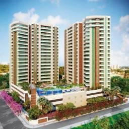 Título do anúncio: AP0356 Condomínio Bosque Das Flores, apartamento no Guararapes, 3 suítes, 3 vagas, lazer