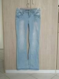 Calça jeans flare Springfield