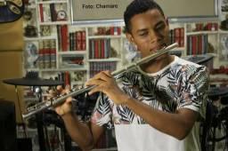 Aula de Flauta Transversal - Desconto Só Essa Semana - ESCOLA CHAMARE
