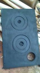 Chapa de fogão a lenha, 50 x 80 cm