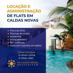 Proprietario Faço Administração de Flats no Hotel Lacqua di Roma e Piazza em Caldas Novas